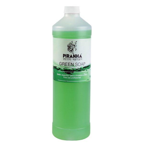 Piranha Green Soap