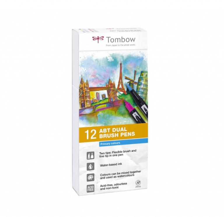 Tombow ABT Basic Colors Set