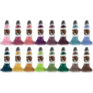 World Famous Ink A.D. Pancho Colour Set