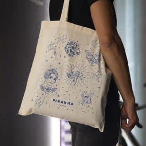 Stencil Tote Bag