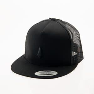 Trucker Cap - Brand Black