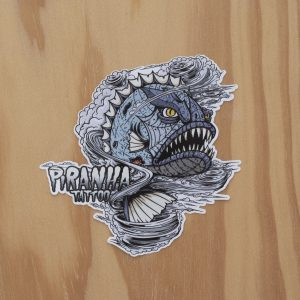 Sticker Piranha Hurricane