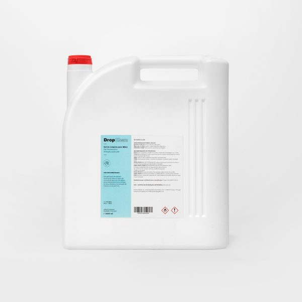 Gel Biocida à Base de Álcool (70%) 5L