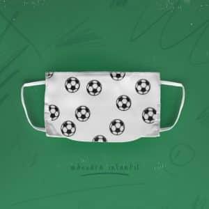 Máscara de Proteção Infantil (lavável á 40º) com 6 camadas, pala protectora, ajuste de nariz e acabamento anti bacteriano.