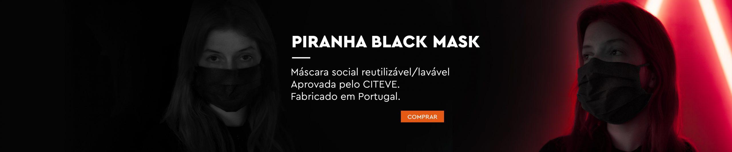 Piranha Black Mask