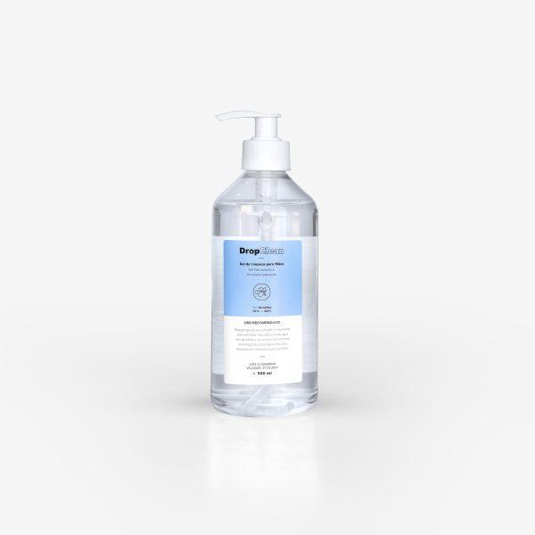 embalagem de biocida hidroaclcoólico com 500ml