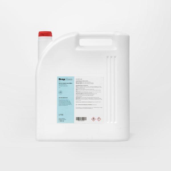 embalagem 5 litros de biocida hidroalcoólico