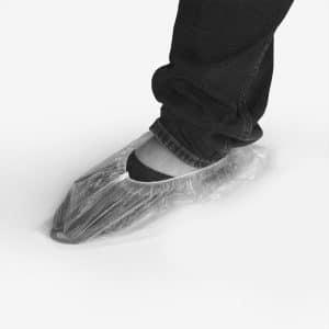 cobertura descartável para calçado