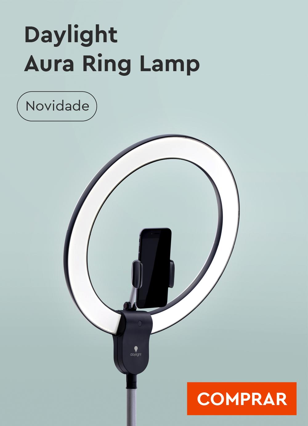 Daylight Aura Ring Lamp